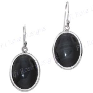"Shop Rainbow Obsidian Earrings! 11/16"" Rainbow Obsidian 925 Sterling Silver Earrings 