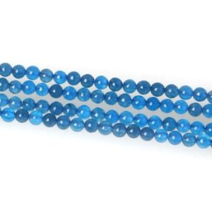 "Shop Sapphire Round Beads! 2mm Natural Sapphire Blue Smooth Round Beads, 15""/str approx. 170 beads 
