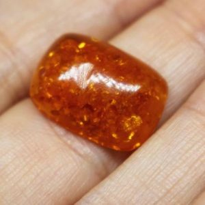 Shop Amber Cabochons! Amber Cabochon | Natural genuine stones & crystals in various shapes & sizes. Buy raw cut, tumbled, or polished gemstones for making jewelry or crystal healing energy vibration raising reiki stones. #crystals #gemstones #crystalhealing #crystalsandgemstones #energyhealing #affiliate #ad
