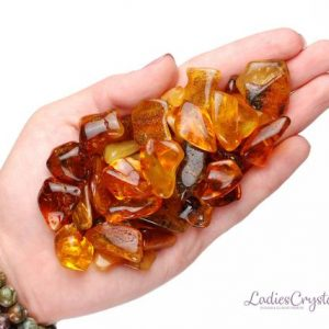 One Baltic Amber Tumbled Stone, Baltic Amber Tumbled Stones, Baltic Amber Tumbled Stone, Baltic Amber, Amber Tumbled Stones, Tumbled Amber | Natural genuine stones & crystals in various shapes & sizes. Buy raw cut, tumbled, or polished gemstones for making jewelry or crystal healing energy vibration raising reiki stones. #crystals #gemstones #crystalhealing #crystalsandgemstones #energyhealing #affiliate #ad