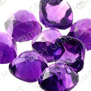 Shop Amethyst Stones & Crystals! Amethyst (African) Rose Cut  Cabochon 8mm Square Cushion – 1 cab | Natural genuine stones & crystals in various shapes & sizes. Buy raw cut, tumbled, or polished gemstones for making jewelry or crystal healing energy vibration raising reiki stones. #crystals #gemstones #crystalhealing #crystalsandgemstones #energyhealing #affiliate #ad