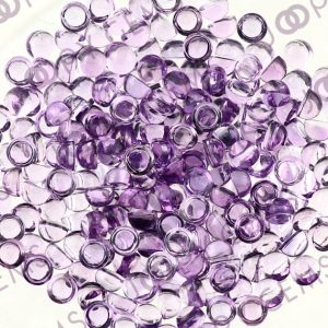 Shop Amethyst Cabochons! Amethyst (brazilian) Cabochon 3mm Round – 1 Cab | Natural genuine stones & crystals in various shapes & sizes. Buy raw cut, tumbled, or polished gemstones for making jewelry or crystal healing energy vibration raising reiki stones. #crystals #gemstones #crystalhealing #crystalsandgemstones #energyhealing #affiliate #ad