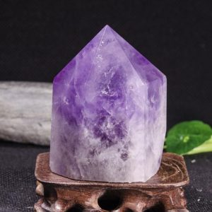 Shop Amethyst Points & Wands! High Quality Natural Clear Amethyst Polished Point / purple Amethyst Tower / purple Crystal Obelisk Ornaments / amethyst Stone Decor-1 Point | Natural genuine stones & crystals in various shapes & sizes. Buy raw cut, tumbled, or polished gemstones for making jewelry or crystal healing energy vibration raising reiki stones. #crystals #gemstones #crystalhealing #crystalsandgemstones #energyhealing #affiliate #ad