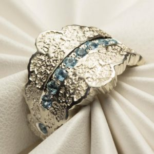 Aquamarine Wedding Band, Aquamarine Engagement Ring, Aquamarine Anniversary Ring, Aquamarine Gold Ring,White Gold Aquamarine,Aquamarine Ring | Natural genuine Array rings, simple unique alternative gemstone engagement rings. #rings #jewelry #bridal #wedding #jewelryaccessories #engagementrings #weddingideas #affiliate #ad