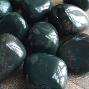 Shop Tumbled Bloodstone Crystals & Pocket Stones! Indian Bloodstone Crystals | Natural genuine stones & crystals in various shapes & sizes. Buy raw cut, tumbled, or polished gemstones for making jewelry or crystal healing energy vibration raising reiki stones. #crystals #gemstones #crystalhealing #crystalsandgemstones #energyhealing #affiliate #ad