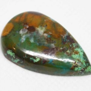 Shop Chrysocolla Cabochons! Cabochon de Chrysocolla | Natural genuine stones & crystals in various shapes & sizes. Buy raw cut, tumbled, or polished gemstones for making jewelry or crystal healing energy vibration raising reiki stones. #crystals #gemstones #crystalhealing #crystalsandgemstones #energyhealing #affiliate #ad