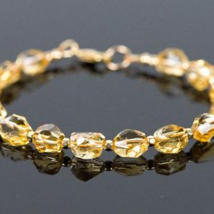 Shop Citrine Bracelets! November Birthstone, Citrine Bracelet, Golden Gemstone Bracelet, Handmade Gemstone Jewelry | Natural genuine Citrine bracelets. Buy crystal jewelry, handmade handcrafted artisan jewelry for women.  Unique handmade gift ideas. #jewelry #beadedbracelets #beadedjewelry #gift #shopping #handmadejewelry #fashion #style #product #bracelets #affiliate #ad