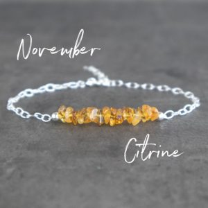 Shop Citrine Bracelets! Raw Citrine Bracelet, November Birthstone Bohemian Jewelry Gift For Her | Natural genuine Citrine bracelets. Buy crystal jewelry, handmade handcrafted artisan jewelry for women.  Unique handmade gift ideas. #jewelry #beadedbracelets #beadedjewelry #gift #shopping #handmadejewelry #fashion #style #product #bracelets #affiliate #ad