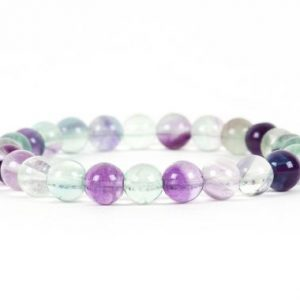 Shop Fluorite Bracelets! Fluorite Bracelet, Natural Fluorite Bracelet, Healing Gemstone Handmade Jewelry | Natural genuine Fluorite bracelets. Buy crystal jewelry, handmade handcrafted artisan jewelry for women.  Unique handmade gift ideas. #jewelry #beadedbracelets #beadedjewelry #gift #shopping #handmadejewelry #fashion #style #product #bracelets #affiliate #ad