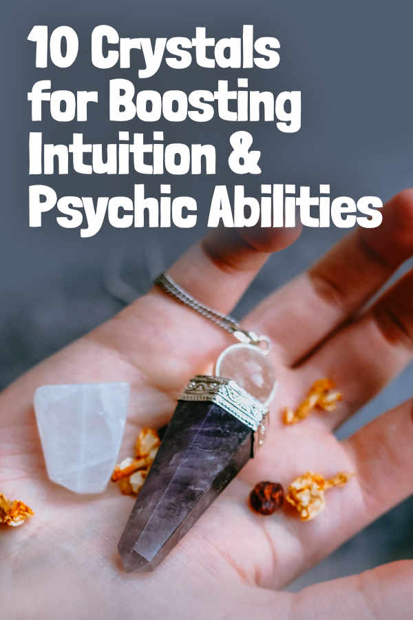 """Best Gems & Crystals to Increase Intuition & Psychic Abilities. Intuition is the ability to access information through channels beyond our normal senses. This information can take the form of visions (clairvoyance), feelings, """"hunches"""", or other forms of awareness. However this information appears to you, these gemstones help open those channels and activate these psychic or intuitive abilities.  Azurite is one of the best stones for increasing your ... #gemstones #crystals #beadage"""