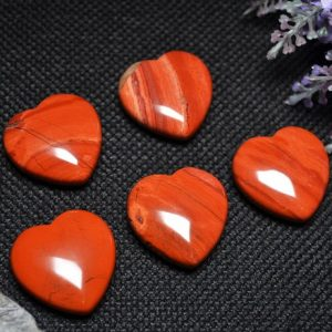 Shop Jasper Shapes! Best Hand Carved Red Jasper Stone Polished Heart Shaped/ Natural Red Jasper Stone/Worry stone/Decoration/Special gift-30mm | Natural genuine stones & crystals in various shapes & sizes. Buy raw cut, tumbled, or polished gemstones for making jewelry or crystal healing energy vibration raising reiki stones. #crystals #gemstones #crystalhealing #crystalsandgemstones #energyhealing #affiliate #ad