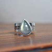 Labradorite Wide Ring, Labradorite Wide Band Ring, Labradorite Ring, Labradorite, Sterling Silver, Wide Band, Wide Band Ring, Pattern Ring | Natural genuine Gemstone jewelry. Buy crystal jewelry, handmade handcrafted artisan jewelry for women.  Unique handmade gift ideas. #jewelry #beadedjewelry #beadedjewelry #gift #shopping #handmadejewelry #fashion #style #product #jewelry #affiliate #ad