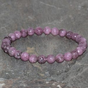Shop Lepidolite Bracelets! Genuine Lepidolite Bracelet, Depression & Anxiety Relief, Overcoming Addictions, Healing Crystals, Chakra Jewelry, Stress Relief, Lithium | Natural genuine Lepidolite bracelets. Buy crystal jewelry, handmade handcrafted artisan jewelry for women.  Unique handmade gift ideas. #jewelry #beadedbracelets #beadedjewelry #gift #shopping #handmadejewelry #fashion #style #product #bracelets #affiliate #ad