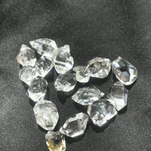 Shop Herkimer Diamond Stones & Crystals! Lovely little Herkimer Diamonds, Glacier Diamonds, Jewelry Supply, Mineral Specimen, Metaphysical Tool | Natural genuine stones & crystals in various shapes & sizes. Buy raw cut, tumbled, or polished gemstones for making jewelry or crystal healing energy vibration raising reiki stones. #crystals #gemstones #crystalhealing #crystalsandgemstones #energyhealing #affiliate #ad