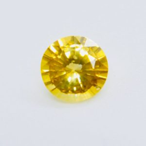 Natural Yellow Sapphire | Round Cut | 6 mm | Loose Sapphire | Unmounted Gemstone | Natural genuine stones & crystals in various shapes & sizes. Buy raw cut, tumbled, or polished gemstones for making jewelry or crystal healing energy vibration raising reiki stones. #crystals #gemstones #crystalhealing #crystalsandgemstones #energyhealing #affiliate #ad