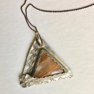 Shop Rutilated Quartz Jewelry! new fine silver and rutilated quartz pendant necklace | Natural genuine Rutilated Quartz jewelry. Buy crystal jewelry, handmade handcrafted artisan jewelry for women.  Unique handmade gift ideas. #jewelry #beadedjewelry #beadedjewelry #gift #shopping #handmadejewelry #fashion #style #product #jewelry #affiliate #ad
