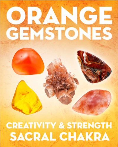 What Do Orange Gemstones & Crystals Mean?. Learn the names and meanings of orange gemstones including sunstone, carnelian, amber, and aragonite.