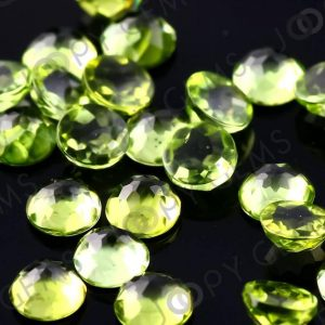 Peridot Rose Cut Cabochon 3mm Round – Per Stone | Natural genuine stones & crystals in various shapes & sizes. Buy raw cut, tumbled, or polished gemstones for making jewelry or crystal healing energy vibration raising reiki stones. #crystals #gemstones #crystalhealing #crystalsandgemstones #energyhealing #affiliate #ad