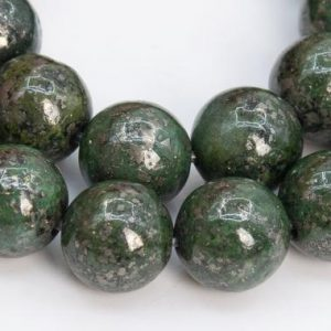 Shop Pyrite Round Beads! 48 / 24 Pcs – 8MM Green Pyrite Beads Grade AAA Round  Gemstone Loose Beads (102300) | Natural genuine round Pyrite beads for beading and jewelry making.  #jewelry #beads #beadedjewelry #diyjewelry #jewelrymaking #beadstore #beading #affiliate #ad