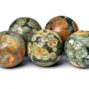 Shop Rainforest Jasper Beads! 65 / 30 Pcs – 6MM Rainforest Rhyolite Beads Grade AA Round Genuine Natural Gemstone Loose Beads (100156) | Natural genuine round Rainforest Jasper beads for beading and jewelry making.  #jewelry #beads #beadedjewelry #diyjewelry #jewelrymaking #beadstore #beading #affiliate #ad