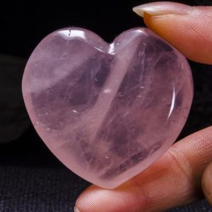 Shop Rose Quartz Shapes! Best Clear Hand Carved Pink Quartz Polished Heart Shaped / rose Quartz Love Stone / pink Heart / rose Quartz Heart / jewelry / special Gift / #4400 | Natural genuine stones & crystals in various shapes & sizes. Buy raw cut, tumbled, or polished gemstones for making jewelry or crystal healing energy vibration raising reiki stones. #crystals #gemstones #crystalhealing #crystalsandgemstones #energyhealing #affiliate #ad