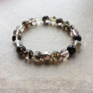 Shop Rutilated Quartz Bracelets! Rutilated Quartz Bracelet | Natural genuine Rutilated Quartz bracelets. Buy crystal jewelry, handmade handcrafted artisan jewelry for women.  Unique handmade gift ideas. #jewelry #beadedbracelets #beadedjewelry #gift #shopping #handmadejewelry #fashion #style #product #bracelets #affiliate #ad