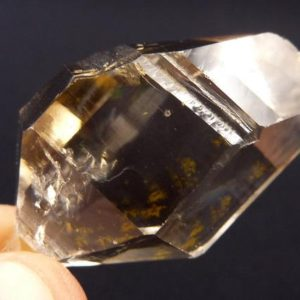 Shop Herkimer Diamond Stones & Crystals! Scepter Quartz Crystal – China – 25 grams – 46 x 27 x 19 mm | Natural genuine stones & crystals in various shapes & sizes. Buy raw cut, tumbled, or polished gemstones for making jewelry or crystal healing energy vibration raising reiki stones. #crystals #gemstones #crystalhealing #crystalsandgemstones #energyhealing #affiliate #ad