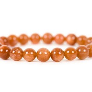Genuine Sunstone Bracelet, Handmade Gemstone Jewelry | Natural genuine Sunstone bracelets. Buy crystal jewelry, handmade handcrafted artisan jewelry for women.  Unique handmade gift ideas. #jewelry #beadedbracelets #beadedjewelry #gift #shopping #handmadejewelry #fashion #style #product #bracelets #affiliate #ad
