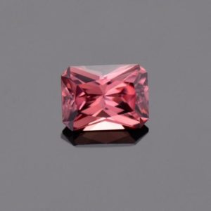 SALE! Superb Rose Pink Zircon Gemstone from Tanzania, 2.52 cts., 8 x 6 mm., Radiant Emerald Cut | Natural genuine stones & crystals in various shapes & sizes. Buy raw cut, tumbled, or polished gemstones for making jewelry or crystal healing energy vibration raising reiki stones. #crystals #gemstones #crystalhealing #crystalsandgemstones #energyhealing #affiliate #ad