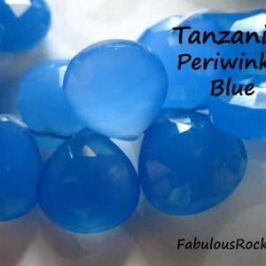 Shop Tanzanite Bead Shapes! Chalcedony Heart Briolettes Beads, Luxe Aaa, 2-20 Pieces, 10.5-12 Mm, Jewerly Supply Bead Tanzanite Periwinkle December Birthstone 1012 | Natural genuine other-shape Tanzanite beads for beading and jewelry making.  #jewelry #beads #beadedjewelry #diyjewelry #jewelrymaking #beadstore #beading #affiliate #ad
