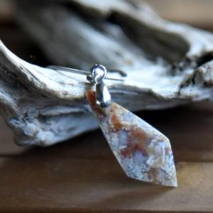 Shop Agate Pendants! Indonesian Moss Agate Pendant | Natural genuine Agate pendants. Buy crystal jewelry, handmade handcrafted artisan jewelry for women.  Unique handmade gift ideas. #jewelry #beadedpendants #beadedjewelry #gift #shopping #handmadejewelry #fashion #style #product #pendants #affiliate #ad
