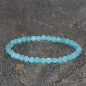 Shop Amazonite Bracelets! Dainty Amazonite Bracelet 4mm Blue Amazonite Beaded Gemstone Bracelet Amazonite Bracelet Stacking Bracelet Gift Bracelet Unisex Bracelet | Natural genuine Amazonite bracelets. Buy crystal jewelry, handmade handcrafted artisan jewelry for women.  Unique handmade gift ideas. #jewelry #beadedbracelets #beadedjewelry #gift #shopping #handmadejewelry #fashion #style #product #bracelets #affiliate #ad