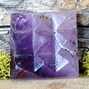 Shop Amethyst Shapes! Amethyst Crystal Vastu Pyramid Energy Generator~ 795 | Natural genuine stones & crystals in various shapes & sizes. Buy raw cut, tumbled, or polished gemstones for making jewelry or crystal healing energy vibration raising reiki stones. #crystals #gemstones #crystalhealing #crystalsandgemstones #energyhealing #affiliate #ad