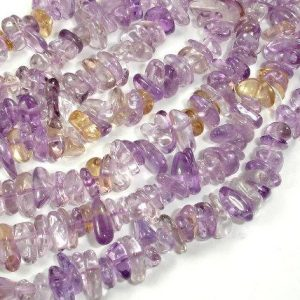 Shop Ametrine Beads! Ametrine, Approx 4mm-10mm Pebble Chips Beads, 16 Inch, Full strand, Hole 0.8mm, A+ quality (116005002) | Natural genuine beads Ametrine beads for beading and jewelry making.  #jewelry #beads #beadedjewelry #diyjewelry #jewelrymaking #beadstore #beading #affiliate #ad
