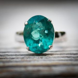 Shop Apatite Rings! Blue Apatite 14k White Gold Ring Size 7 ring – Gorgeous Blue Apatite Ring Size 7 – Blue Apatite White Gold – Blue Apatite ring size 7 | Natural genuine Apatite rings, simple unique handcrafted gemstone rings. #rings #jewelry #shopping #gift #handmade #fashion #style #affiliate #ad
