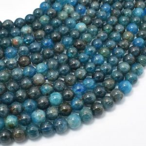 Shop Apatite Beads! Apatite Beads, 6mm Round Beads, 15 Inch, Full strand, Approx 65-68 beads, Hole 0.8mm (120054012) | Natural genuine beads Apatite beads for beading and jewelry making.  #jewelry #beads #beadedjewelry #diyjewelry #jewelrymaking #beadstore #beading #affiliate #ad