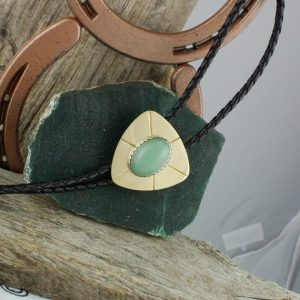 Shop Aventurine Necklaces! Natural Aventurine Bolo Tie – Western Bolo Tie – Cowboy Bolo Tie Necklace – Brass Bolo Tie | Natural genuine Aventurine necklaces. Buy crystal jewelry, handmade handcrafted artisan jewelry for women.  Unique handmade gift ideas. #jewelry #beadednecklaces #beadedjewelry #gift #shopping #handmadejewelry #fashion #style #product #necklaces #affiliate #ad