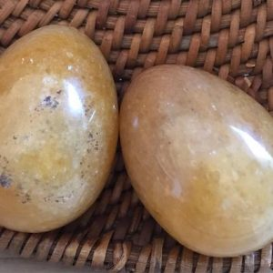 Yellow Aventurine Small Gemstone Egg, healing Stone, Chakra Stone, Spiritual Stone, healing Crystal | Natural genuine stones & crystals in various shapes & sizes. Buy raw cut, tumbled, or polished gemstones for making jewelry or crystal healing energy vibration raising reiki stones. #crystals #gemstones #crystalhealing #crystalsandgemstones #energyhealing #affiliate #ad