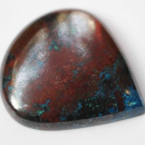 Shop Azurite Cabochons! Cabochon Good Size Azurite + Cuprite | Natural genuine stones & crystals in various shapes & sizes. Buy raw cut, tumbled, or polished gemstones for making jewelry or crystal healing energy vibration raising reiki stones. #crystals #gemstones #crystalhealing #crystalsandgemstones #energyhealing #affiliate #ad