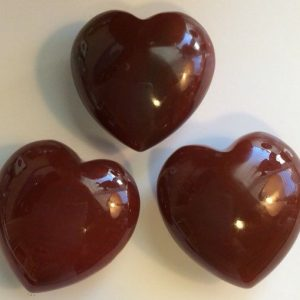 Shop Carnelian Shapes! Carnelian Gemstone Puffy Heart, 45mm, Spiritual Stone, Healing Stone, Healing Crystal, Chakra | Natural genuine stones & crystals in various shapes & sizes. Buy raw cut, tumbled, or polished gemstones for making jewelry or crystal healing energy vibration raising reiki stones. #crystals #gemstones #crystalhealing #crystalsandgemstones #energyhealing #affiliate #ad