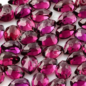 Shop Garnet Cabochons! Rhodolite Garnet Rose Cut Pear Cabochon 7x5mm – 1 Cab | Natural genuine stones & crystals in various shapes & sizes. Buy raw cut, tumbled, or polished gemstones for making jewelry or crystal healing energy vibration raising reiki stones. #crystals #gemstones #crystalhealing #crystalsandgemstones #energyhealing #affiliate #ad