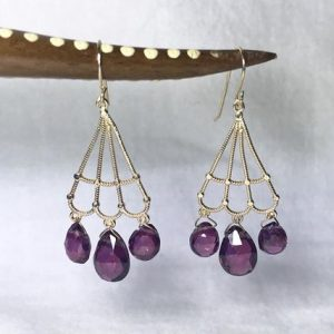 Shop Garnet Earrings! 14K Yellow Gold Natural Garnet (6.00 ct) Earrings, Appraised 1,700 CAD | Natural genuine Garnet earrings. Buy crystal jewelry, handmade handcrafted artisan jewelry for women.  Unique handmade gift ideas. #jewelry #beadedearrings #beadedjewelry #gift #shopping #handmadejewelry #fashion #style #product #earrings #affiliate #ad