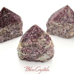 Shop Lepidolite Points & Wands! 1 LEPIDOLITE Polished Point Rough Tower Large Lithium Crystal #LP84 | Natural genuine stones & crystals in various shapes & sizes. Buy raw cut, tumbled, or polished gemstones for making jewelry or crystal healing energy vibration raising reiki stones. #crystals #gemstones #crystalhealing #crystalsandgemstones #energyhealing #affiliate #ad