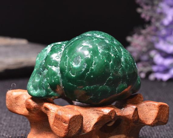 Best Large Polished Green Malachite Stone -tumbled Stones For Decoration/pocket Stones/healing Crystals/display/gift-50*40*28mm-114g#401