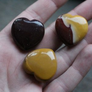 Mookaite Jasper Stone Shaped Heart H21 | Natural genuine stones & crystals in various shapes & sizes. Buy raw cut, tumbled, or polished gemstones for making jewelry or crystal healing energy vibration raising reiki stones. #crystals #gemstones #crystalhealing #crystalsandgemstones #energyhealing #affiliate #ad