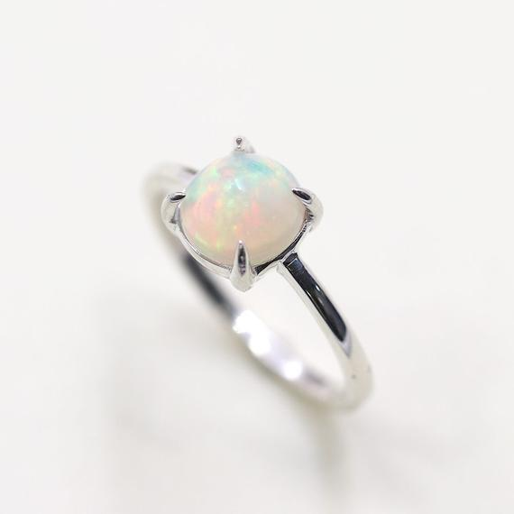 Black Druzy Ring Solitaire Silver Ring Raw Stone Ring Women/'s Ring Promise Ring Best Friend Gifts Gift for Mother Rough Gemstone Ring