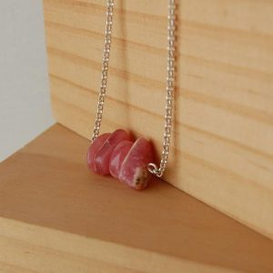 Shop Rhodochrosite Pendants! Rhodochrosite Necklace, Rhodocrosite Pendant, Rhodocrosite Stone, Inca Rose, dainty, Stones Of The Heart, love Stones, Gift Ideas For Her, love | Natural genuine Rhodochrosite pendants. Buy crystal jewelry, handmade handcrafted artisan jewelry for women.  Unique handmade gift ideas. #jewelry #beadedpendants #beadedjewelry #gift #shopping #handmadejewelry #fashion #style #product #pendants #affiliate #ad
