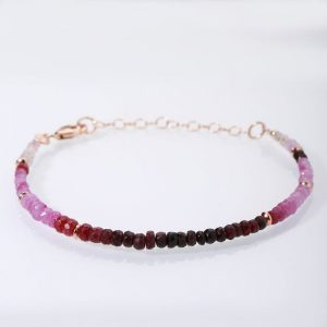 Shop Ruby Bracelets! Ruby Bracelet Christmas Sale Ombre Ruby Gemstone Bracelet Grade Aa Genuine Ruby July Birthstone Gift For Wife Christmas Gift Wedding Gift | Natural genuine Ruby bracelets. Buy handcrafted artisan wedding jewelry.  Unique handmade bridal jewelry gift ideas. #jewelry #beadedbracelets #gift #crystaljewelry #shopping #handmadejewelry #wedding #bridal #bracelets #affiliate #ad