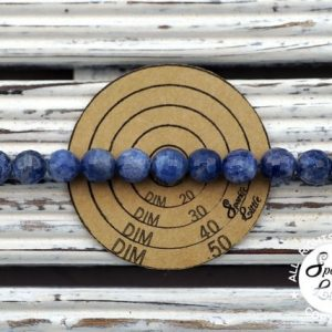 Shop Sapphire Faceted Beads! Blue Sapphire faceted round beads 8-8.5mm (ETB01019) Rare/Unique jewelry/Vintage jewelry/Gemstone necklace | Natural genuine faceted Sapphire beads for beading and jewelry making.  #jewelry #beads #beadedjewelry #diyjewelry #jewelrymaking #beadstore #beading #affiliate #ad