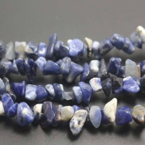 Shop Sodalite Chip & Nugget Beads! Sodalite Chip Beads, Chips Beads supply,32 inches one starand | Natural genuine chip Sodalite beads for beading and jewelry making.  #jewelry #beads #beadedjewelry #diyjewelry #jewelrymaking #beadstore #beading #affiliate #ad